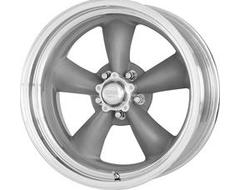 American Racing Wheels VN215 CLASSIC TORQ THRUST II 1 PC - Mag grey - Machined lip