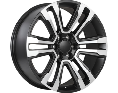 ART Wheels Replica 147 - Satin Black with Machined Face