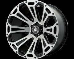 Asanti AB813 CLEAVER Series Wheels - Black-brushed