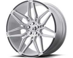 Asanti Wheels ABL-11 SIRIUS - Brushed Silver - Carbon Fiber Insert