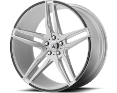 Asanti Wheels ABL-12 ORION - Brushed Silver - Carbon Fiber Insert
