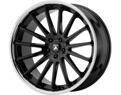 Asanti Wheels ABL-24 BETA - Gloss Black - Chrome Lip