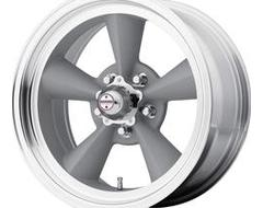 American Racing Wheels VN309 TT O - Vintage Silver - Machined lip