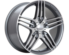 ART Wheels Replica 30 - Gunmetal with Machined Face