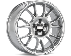 BBS CH Series Wheels - Diamond silver paint, clear protective top coat.