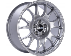 BBS CK Series Wheels - Diamond silver paint, clear protective top coat.