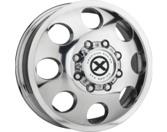 American Racing Wheels AR204 BAJA DUALLY - Polished - Rear