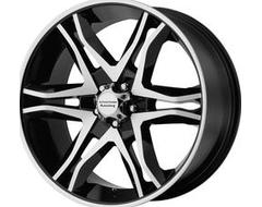 American Racing Wheels AR893 MAINLINE - Gloss Black - Machined