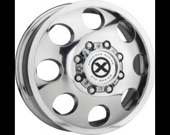 ATX Series AX204 BAJA DUALLY Series Wheels - Polished - front