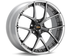 BBS RI-S Series Wheels - Diamond black painted center, diamond-cut rim, clear protective top coat.
