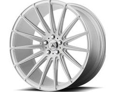 Asanti Wheels ABL-14 POLARIS - Brushed Silver - Carbon Fiber Insert