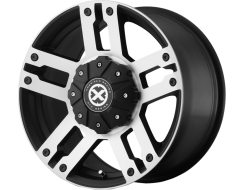 ATX Series AX190 DUNE Series Wheels - Satin black with machined face