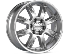 BBS RWT Series Wheels - Diamond silver paint, clear protective top coat.