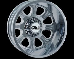 Cali Off-Road BRUTAL 9105 Series Wheels - rear chrome