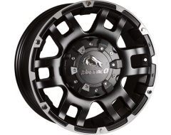 Ceco Bullalo Series Wheels - Matte black machined
