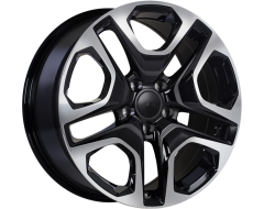 ART Replica 178 - Gloss Black with Machined Face wheels