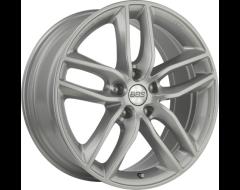 BBS SX Series Wheels - Platinum with diamond cut face; gloss clear.