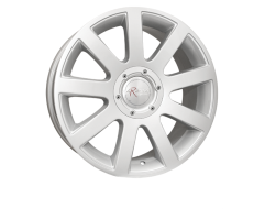 Ceco Series 166 Series Wheels - Silver