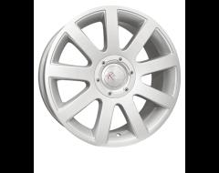 Ceco Series 166 Series Wheels - Silver