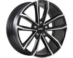 DAI Wheels Decima - Gloss Black with Machined Face