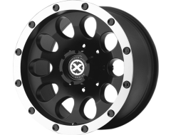 ATX Series AX186 SLOT Series Wheels - Satin black with machined face