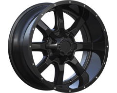 Ceco Series 479 Series Wheels - Matte black