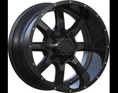 Ceco Series 479 Series Wheels - Matte black