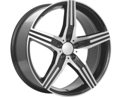 Ceco Series 557 Series Wheels - Grey machined