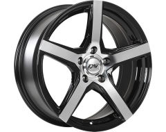 DAI Wheels Cor Classic Series - Gloss Black - Machined Face