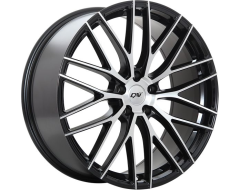 DAI Wheels Rennsport Tuning Series - Gloss Black - Machined Face