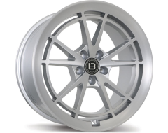 Braelin Wheels BR11 - Satin Silver With Satin Machined Face