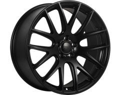 DAI Wheels Autobahn Staggered Series - Satin - Black