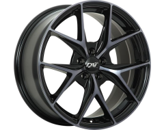 DAI Wheels Elegante Tuning Series - Gloss Black - Machined face smoked clear