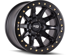 Dirty Life Wheels DT-2 9304 Series - Matte Black - Simulated ring