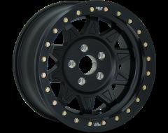 Dirty Life Wheels ROADKILL RACE 9302 Series - Matte Black - Black BeadLock