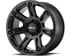 Helo Wheels HE904 - Satin - Black