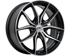 DAI Wheels Arc - Gloss Black with Machined Face