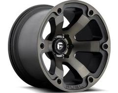 Fuel Off-Road Wheels D564 BEAST - Matte Black - Double Dark tint