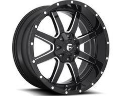 Fuel Off-Road Wheels D610 MAVERICK - Gloss Black Milled