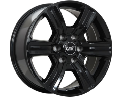 DAI Wheels Force 6 - Gloss Black