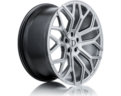 Deutschman Design D01 Series Wheels - Silver machined