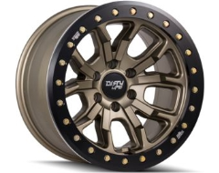 Dirty Life Wheels DT-1 9303 Series - Matte gold - Simulated ring
