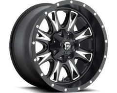 Fuel Off-Road Wheels D513 THROTTLE - Matte Black - Milled