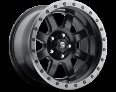 Fuel Off-Road Wheels D551 TROPHY - Matte Black - Gunmetal ring