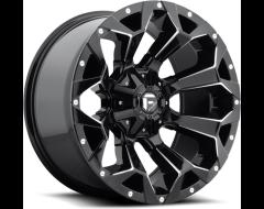 Fuel Assault Series Wheels - Gloss Black