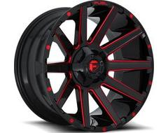 Fuel Off-Road Wheels D643 CONTRA - Gloss Black - Tinted clear
