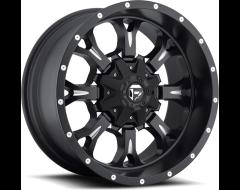 Fuel Off-Road Wheels D517 KRANK - Matte Black - Milled