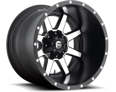 Fuel Maverick Series Wheels - Black with Machined Face