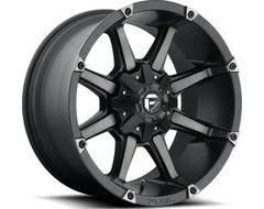 Fuel Off-Road Wheels D556 COUPLER - Matte Black - Double Dark tint