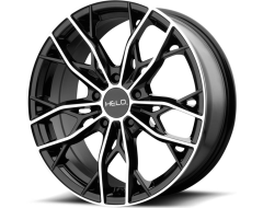Helo Wheels HE907 - Gloss Black - Machined